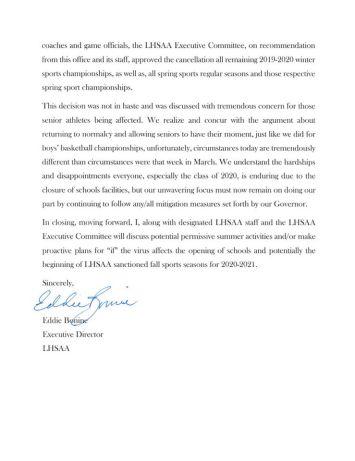 LHSAA release2